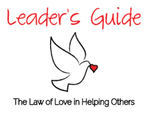 Helping Others Leader's Guide (FREE)